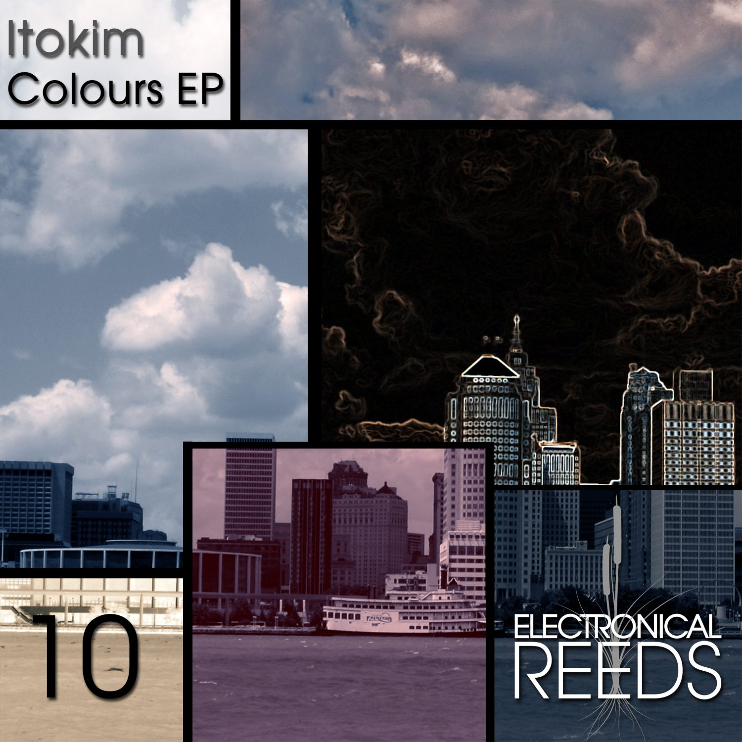 ER010 - Itokim - Colours EP - Electronical Reeds