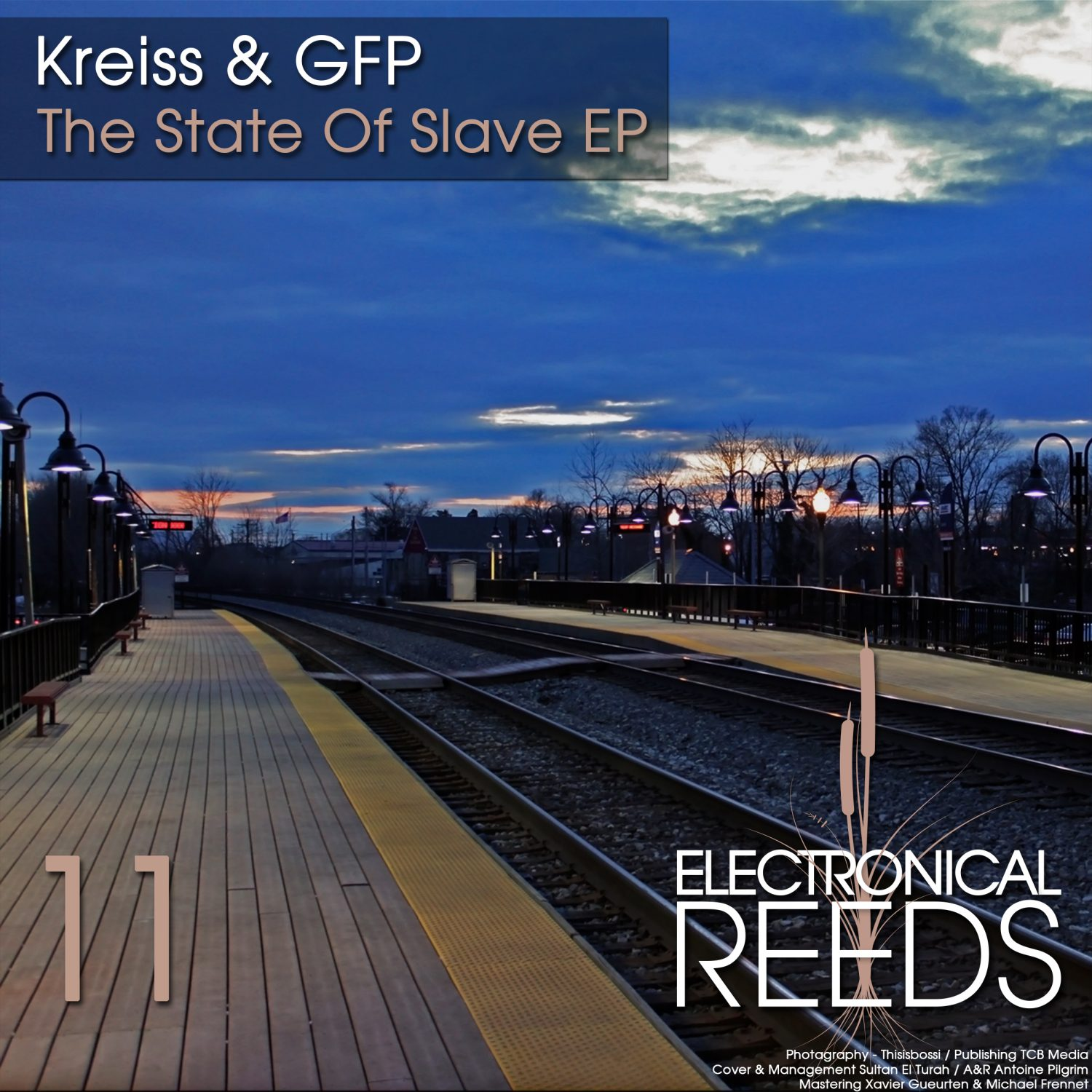 ER011 - Kreiss & GFP - The State Of Slave EP - Electronical Reeds