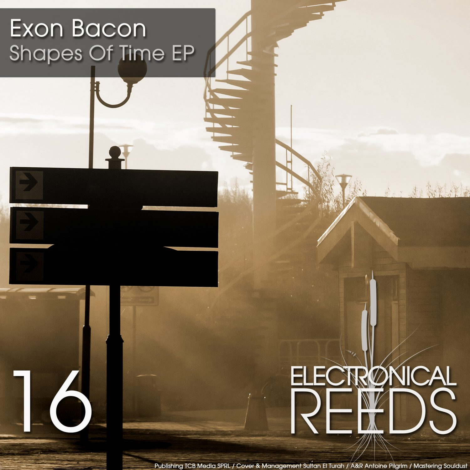 ER016 - Exon Bacon - Shapes Of Time EP (incl. Martin Patino & Dave Ellesmere Remix) - Electronical Reeds