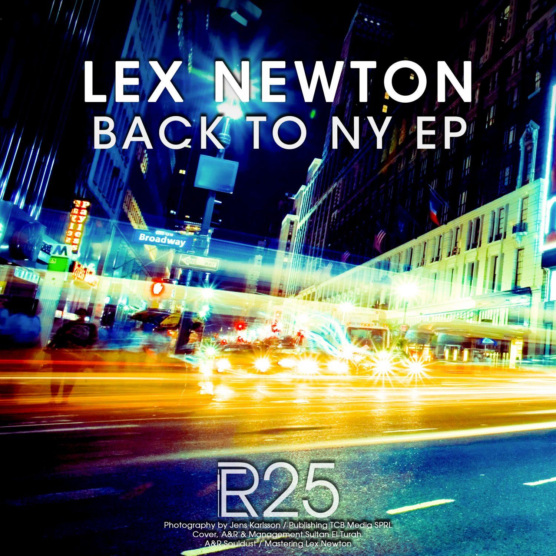 ER025 - Lex Newton - Back To NY EP - Electronical Reeds