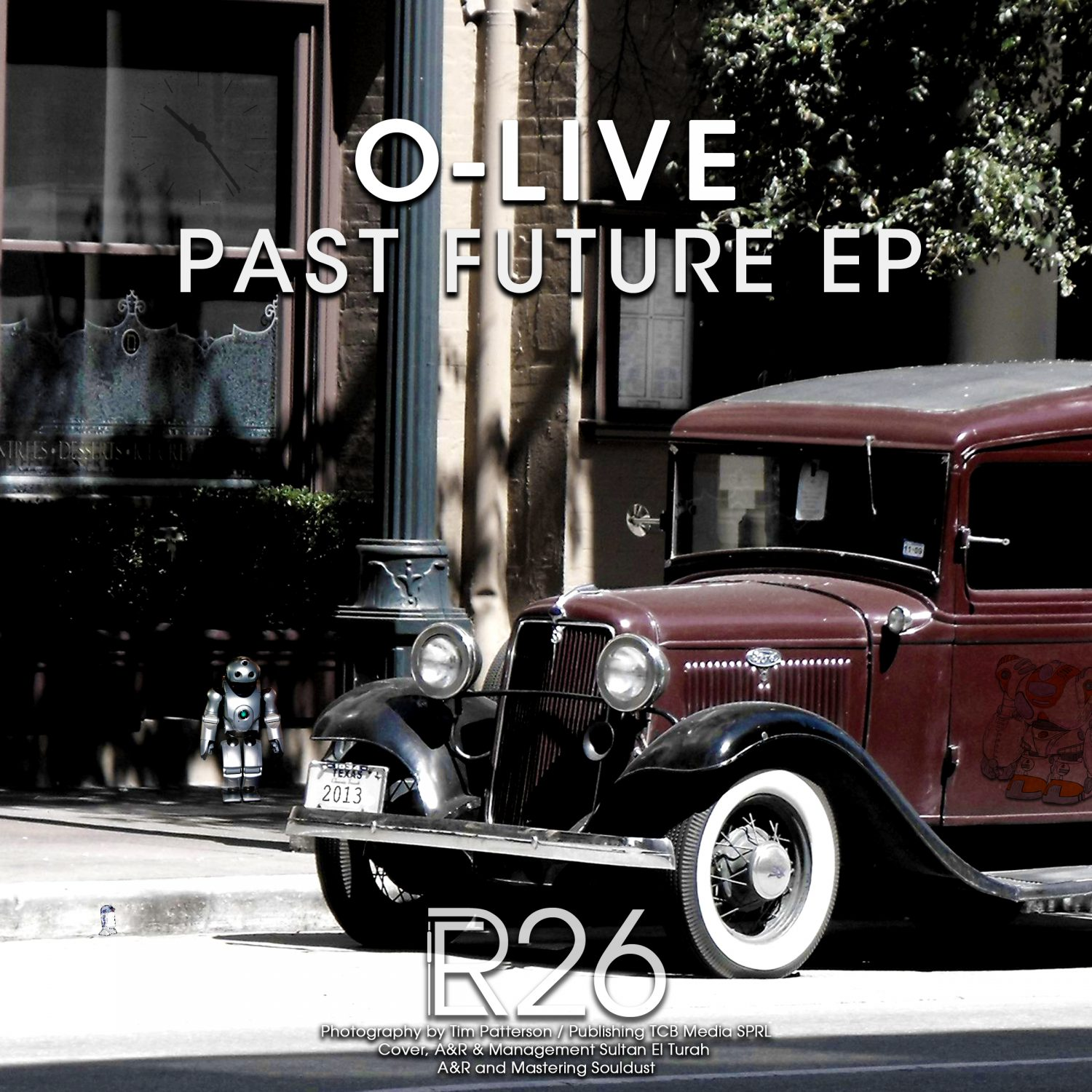ER026 - O-Live - Past Future EP - Electronical Reeds