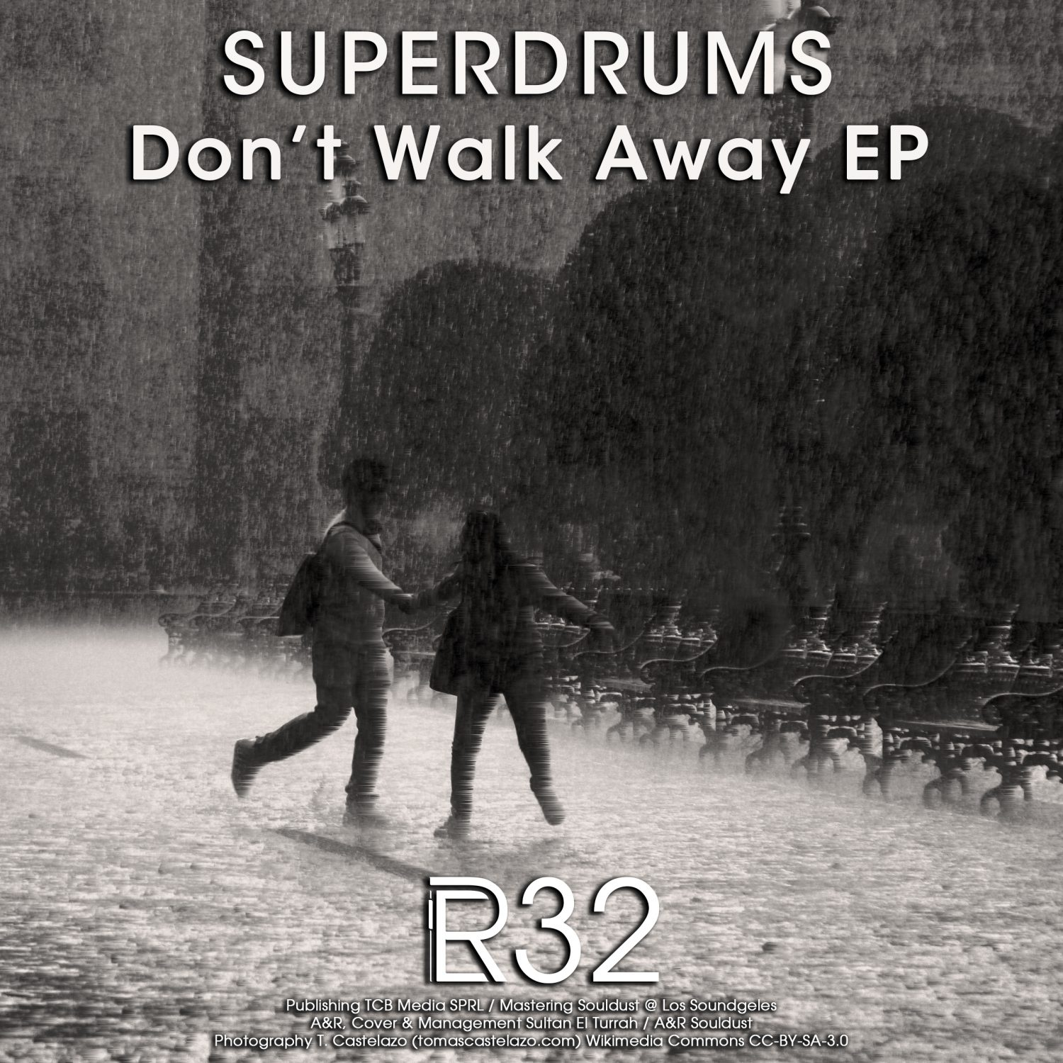 ER032 - Superdrums - Don't Walk Away EP - Electronical Reeds